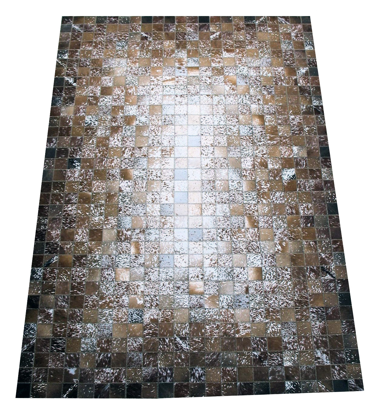 Custom cowhide rugs for Cowhide rug houston