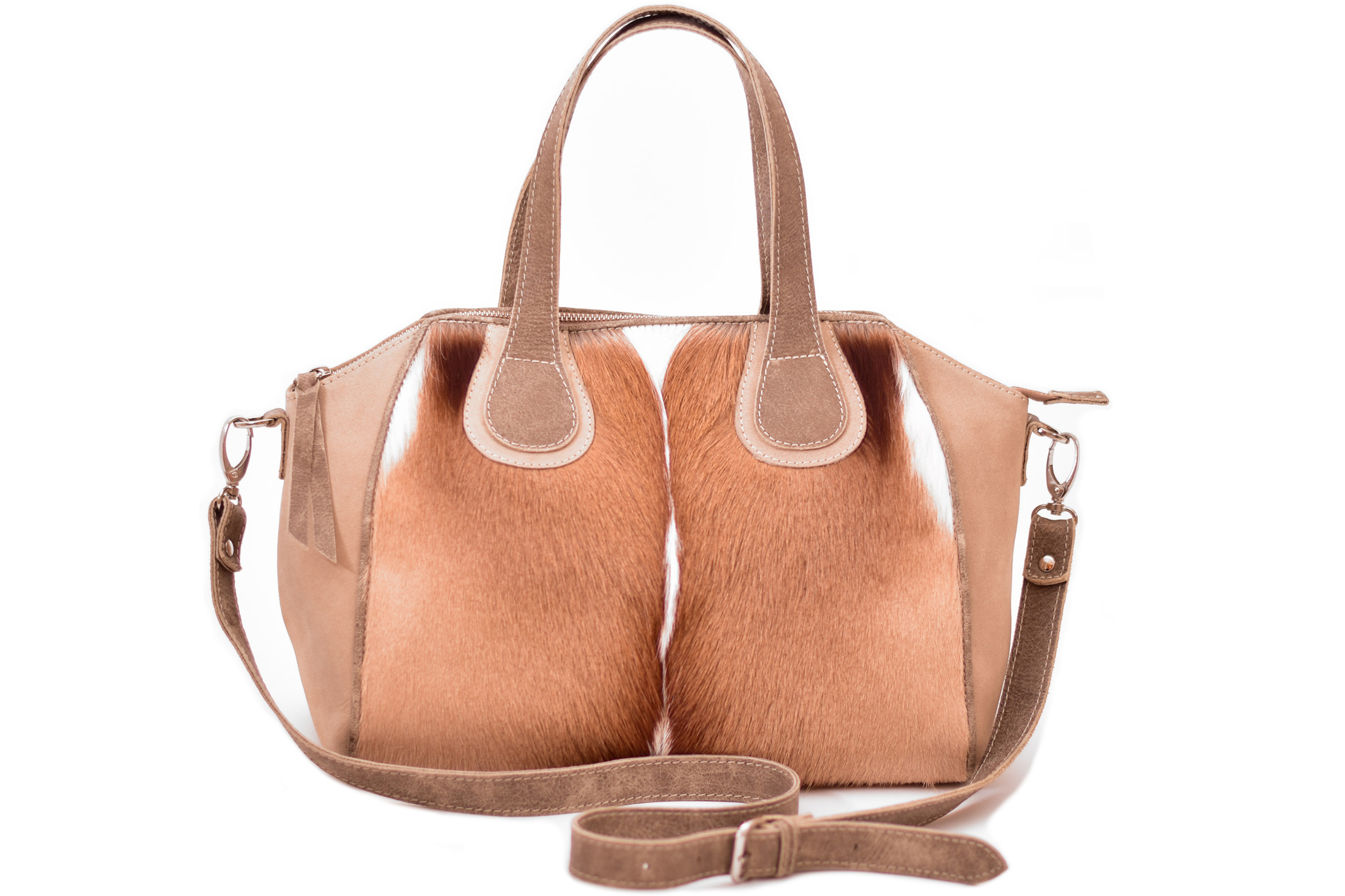 Briseis Handbag Stone Leather