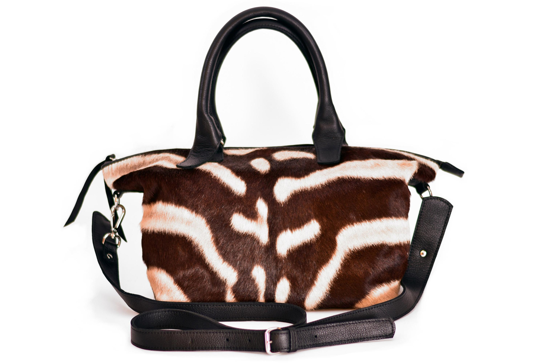 Candice Zebra Handbag